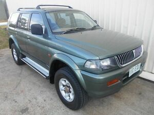 1998 Mitsubishi Challenger PA Green 4 Speed Automatic Wagon Kippa-ring Redcliffe Area Preview