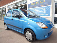 Chevrolet Matiz 0.8 S £30 per year road tax Low miles ready to go