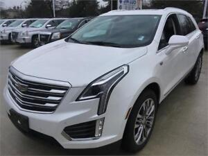 2017 Cadillac XT5 PREMIUM white with black interior fully loaded
