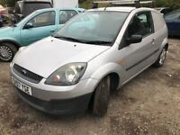 2007 Ford Fiesta van diesel, starts and drives but doesn't quite run right, drives okay but when idl