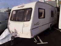 2005 Bailey Pageant Bretagne 6 Berth FIXED REAR BUNKS Inc a Motor Mover.