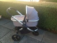 Icandy peach jogger travel system with recaro car seat