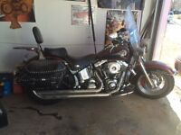 wanting to swap my 2000 Harley Davidson Heritage Classic