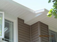 "5"" & 6"" Seamless Eaves, Siding, Soffit, Stone, Windows, Doors"