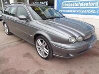 Jaguar X-TYPE 2.2D Estate 2006 Sport Full S/H 12 Stamps P/X Swap