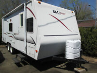2007 R-VISION MAXSPORT MS-24 25 PIED ROULOTTE A/C *COMME NEUF*