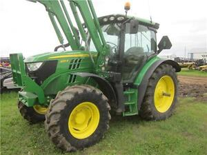 2014 JD 6125R MFWD Tractor