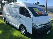 2011 Toyota Hiace TRH221R MY11 High Roof Super LWB White 4 Speed Automatic Van Ferntree Gully Knox Area Preview