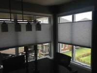 Stores Horizontaux NEUF Top Down 52'' x 64'' blinds brand new