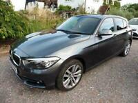 2018 BMW 1 Series 118d Sport 5dr [Nav/Servotronic] Step Auto HATCHBACK Diesel Au