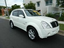 2010 Ssangyong Rexton Y220 II MY08 RX270 White 5 Speed Manual Wagon Redcliffe Redcliffe Area Preview