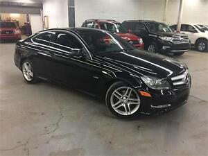 MERCEDES C250 COUPE 2012 / 4 CYL / GPS / CUIR / 93600KM!