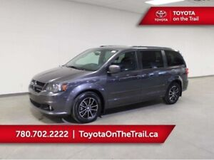 2015 Dodge Grand Caravan R/T; LEATHER, REAR DVD, NAV, CAR STARTE