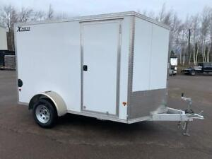 NEW 2019 XPRESS 6' x 10' ALUMINUM ENCLOSED TRAILER