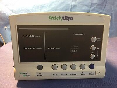 Welch Allyn 52000 Series Nibp Pulse Temp Patient Monitor - For Parts