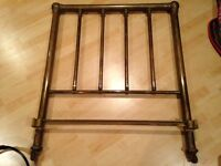 Brass Bed Frame - Antique