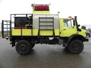 1998 Mercedes Benz Unimog U2450L Fire Truck ***cash finders fee*