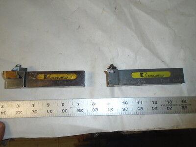 Machinist Tool Lathe Mill 2 Kennemetal 1 Shank Carbide Insert Lathe Tools Lt111
