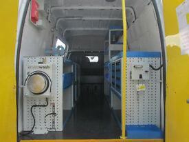 Mobile Workshop / Welfare vans Transit,Mercedes,Crafter,Movano,Master,
