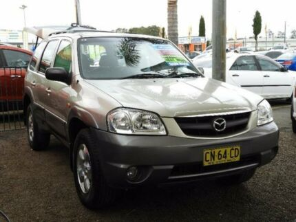 2004 Mazda Tribute MY2004 Luxury Gold 4 Speed Automatic Wagon Colyton Penrith Area Preview