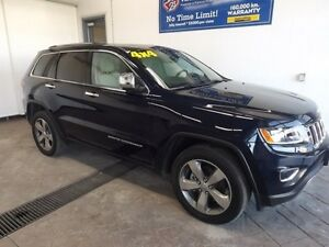 2016 Jeep Grand Cherokee Limited 4X4 LEATHER NAV SUNROOF