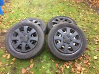 Genuine VW wheels of Caddy, Touran, Golf etc.