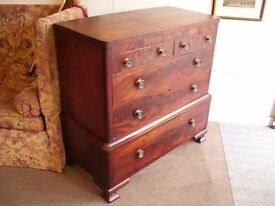 French C19th chest of drawers