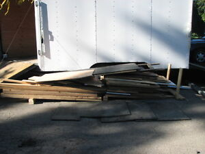 Assorted Lumber and Plywood