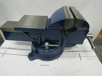 New - 5 Bench Vise With Swivel Base