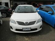 2010 Toyota Corolla ZRE152R MY11 Ascent White 4 Speed Automatic Sedan Werribee Wyndham Area Preview