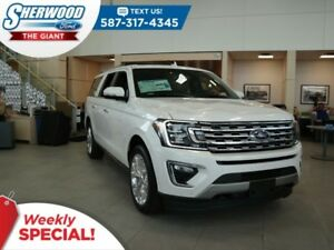 2018 Ford Expedition Limited Max 4x4 - SYNC Connect, Tow Package