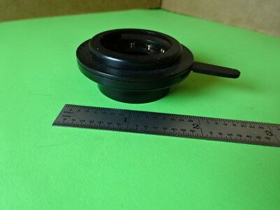 Microscope Part Optical Iris Diaphragm Optics As Is L5-b-26