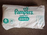Pampers Pull Ups Size 6 (38 pack)
