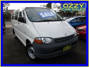 1996 Toyota Hiace RCH12R SBV White 5 Speed Manual Van Minto Campbelltown Area Preview