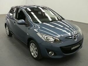 2014 Mazda 2 DE MY14 Maxx Sport Blue 4 Speed Automatic Hatchback Fyshwick South Canberra Preview