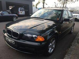 2001 BMW 320i Green Automatic Sedan Croydon Burwood Area Preview
