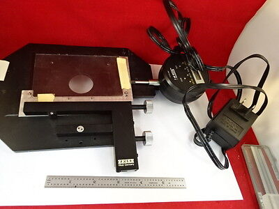 Zeiss Germany Stage Spi Micrometer Specimen Table Microscope Part 79-24