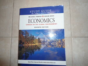 Conestoga:ECONOMICS.STUDY GUIDE 7th EDITION  COHEN-KING  PARKING Kitchener / Waterloo Kitchener Area image 1