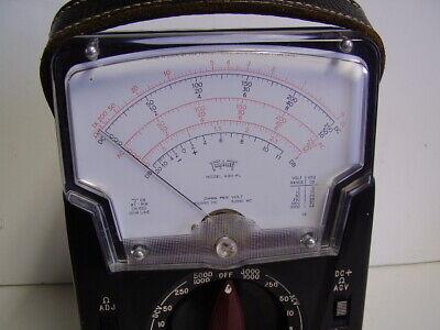 Triplett 630-pl Multimeter With Manual