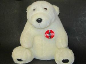 "10"" COKE BEARS +MANY OTHER BEAR figures, plush teddy collectible Windsor Region Ontario image 1"