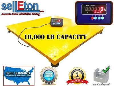 Op-916nn Industrial Warehouse 60 X 60 5x5 Floor Scale 10000 Lbsx2lb