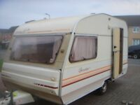 perle custom avondale 2 birth caravan