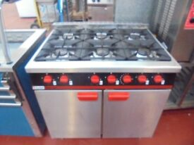 COMMERCIAL GAS OVEN RANGE