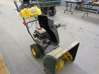 Snowblower London Police Auction Mon Oct 5 @ 5 pm