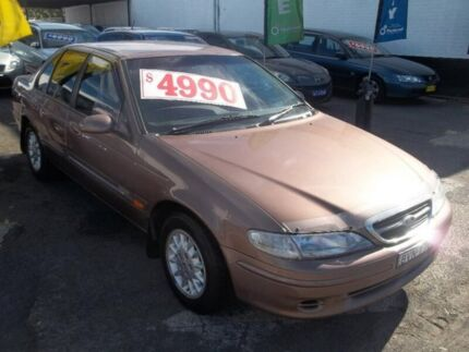 1998 Ford Fairmont EL Bronze 4 Speed Automatic Sedan