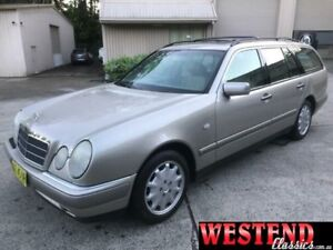 1998 Mercedes-Benz E320 W210 T Avantgarde Gold 5 Speed Automatic Wagon Lisarow Gosford Area Preview