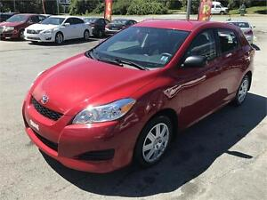 2013 Toyota Matrix, SUPER CLEAN,ONE OWNER, LOW KMS