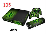 XBOX ONE DECAL VINYL FOR CONSOLE & CONTROLLERS - WEED JOKER
