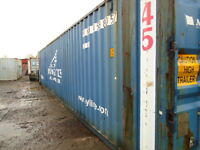 Used 40' & up sea cans/containers for sale