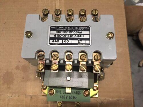 Ward Leonard Electric Model: IC5181D101C6AA Contactor Magnetic Coil 440